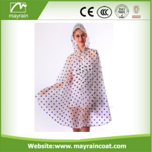 One Size Fits Pvc Durable Raincoat Poncho