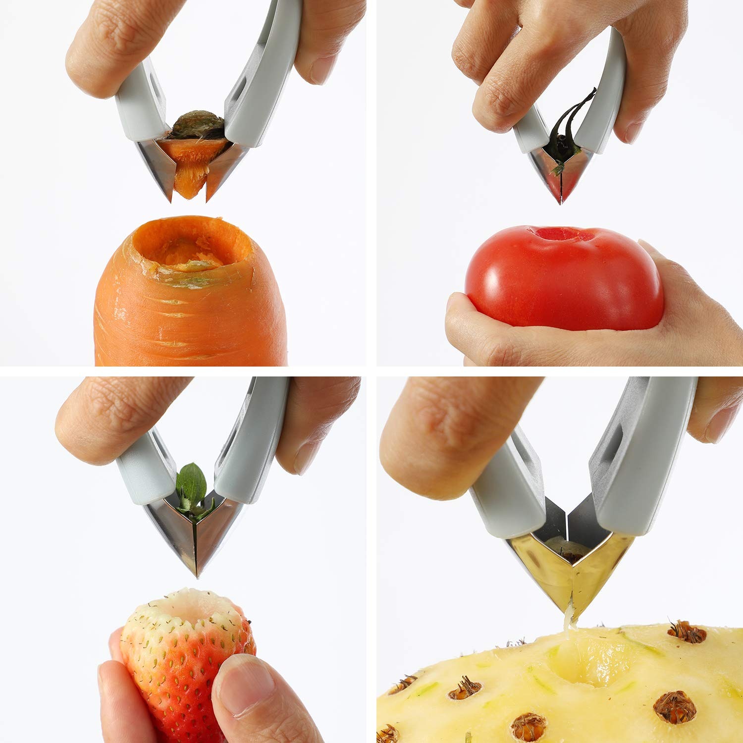 strawberry huller tool