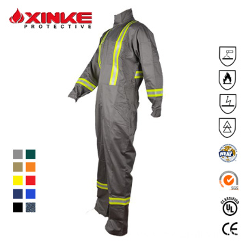 Fireproof safety mining coverall Welding protective coverall