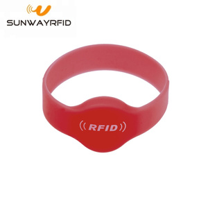Short Lead Time for for RFID Festival Wristbands 13.56mhz Silicone rfid Chip Wristbands Bracelet supply to Bhutan Manufacturers