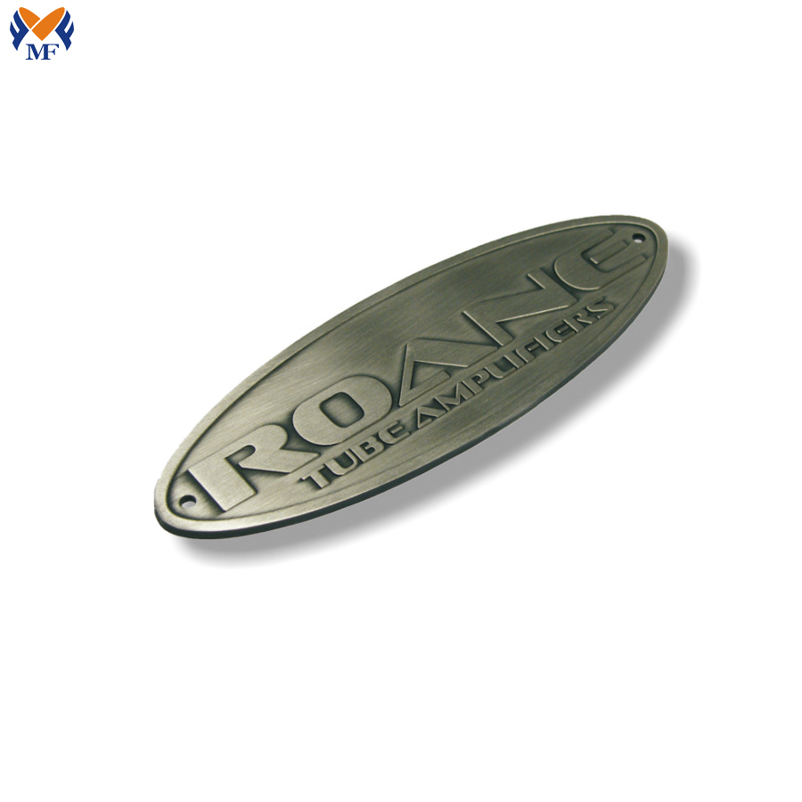 Metal Embossed Logo