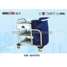 Hospital used morning care cart
