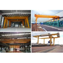 New Fashion Design for Rubber Tyre Gantry Crane gantry crane 200 ton supply to Estonia Manufacturer