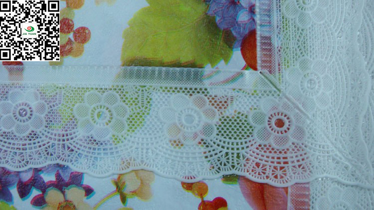 vinyl tablecloth 2 incle lace edge