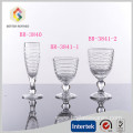 Top grade lead-free champagne goblet glass cup