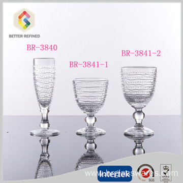 Customized for Glass Goblet Top grade lead-free champagne goblet glass cup export to Niue Manufacturers