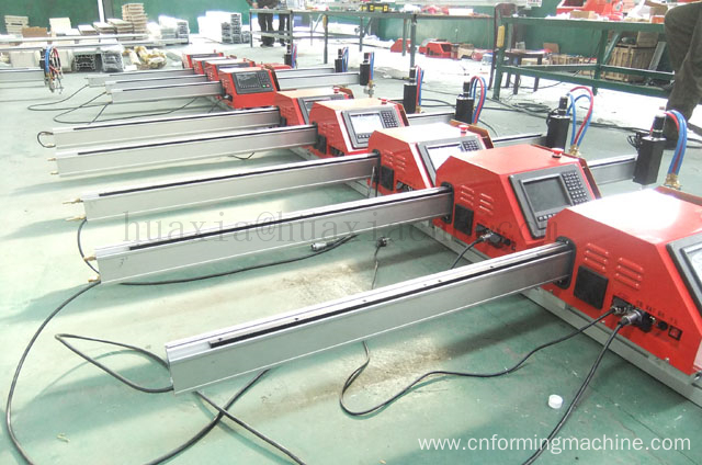 CNC Portable gas cutting machine with plasma cutting