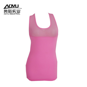 Women Running Fitness Clothing Workout Tank Top