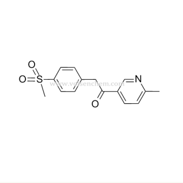 CAS 221615-75-4 Etoricoxib Intermediates 1-(6-methyl-3-pyridyl)-2-(4-(methylsulfonyl)-phenyl)ethanone