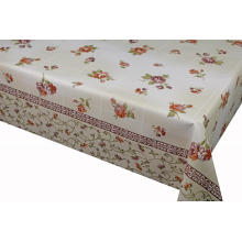 Vinyl Elegant Tablecloth with Non woven backing