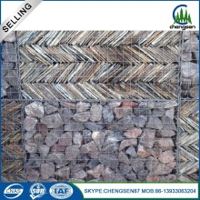 2017 new galvanized welded gabion basket