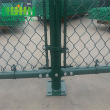 PVC coated diamond chain mesh fence for sale