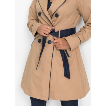 Ladies elegant trench coat