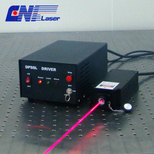 1000mw 671nm high stability red laser for measurement