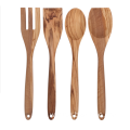 Olive wood cooking utensils set