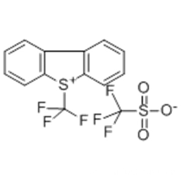 S-(Trifluoromethyl)dibenzothiophenium trifluoromethanesulfonate CAS 129946-88-9