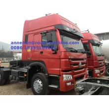 China OEM for Prime Mover With Trailer 40T EuroII SINOTRUK HOWO Tractor Truck export to Andorra Factories