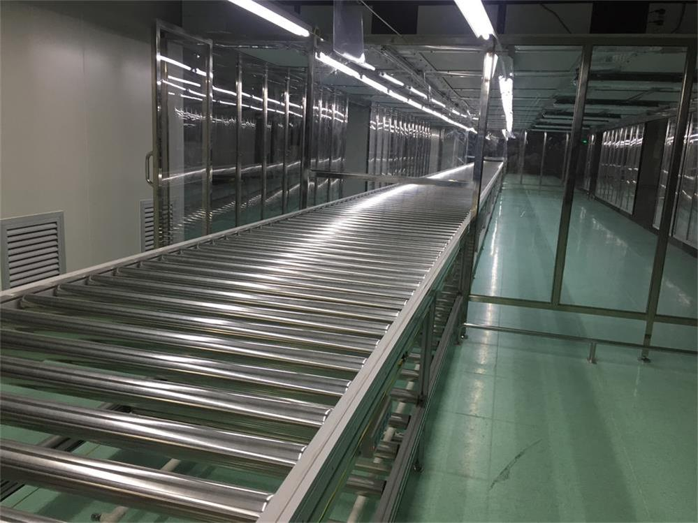 Motorized Drum Conveyor Belt Roller Conveyor System