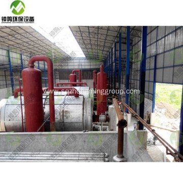 Pyrolysis Process of Soild Waste Machine