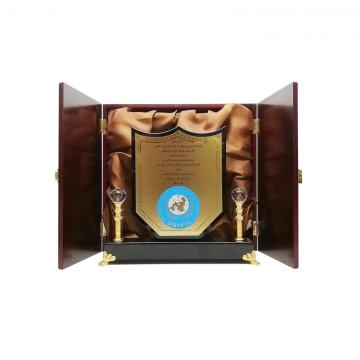 wholesale luxury  wooden trophy wooden medal