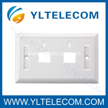 Wall Plates RJ45 1-2-3-4-6 Port 70*115MM