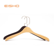 EISHO Wholesale Fashion Wooden Coat Hanger