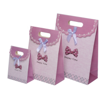 Hot sell delicate cloth paper bags