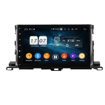 car auto multimedia dvd player for Highlander 2015-2017