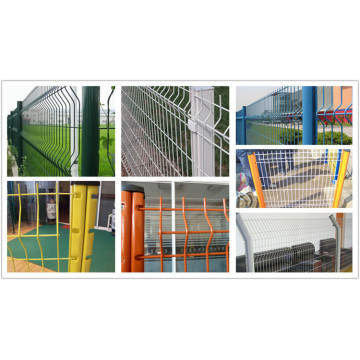 3D Fence Curves Bending Wire Mesh Fence