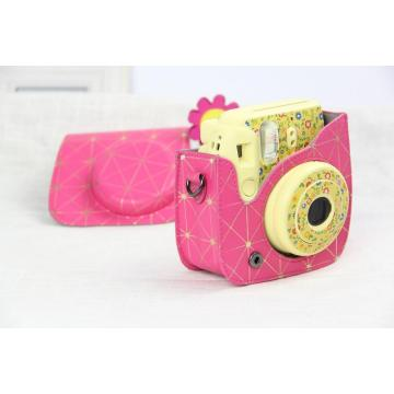 Rose Gold Polaroid Camera Bag