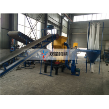 Waste scrap Tire Rubber Crusher Machine For Sale