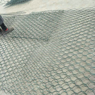 PVC Coated Hexagonal Wire mesh Gabion Cage