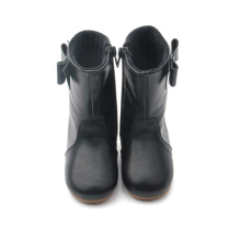 New Arrival China for Baby Leather Boots OEM Toddler Shoes Rubber Leather Kids Rain Boots supply to India Factory