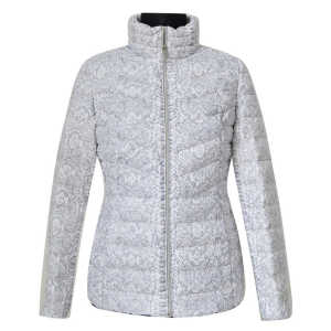 Holiday sales for Women Light Down Touch Jacket 100% nylon print down jacket supply to Portugal Supplier