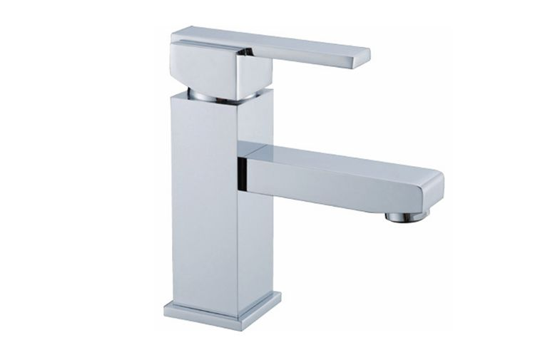 Square Type Bathroom Cabinet Basin Mixer