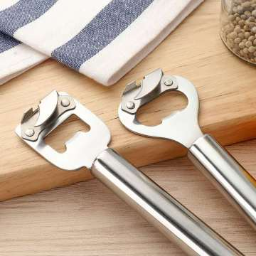 18/0 Bright Stainless Steel Bottle Opener