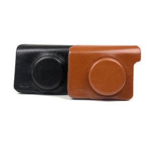 Top Quality for Instax Camera Bag Brown Black Retro Camera Bag supply to Russian Federation Importers