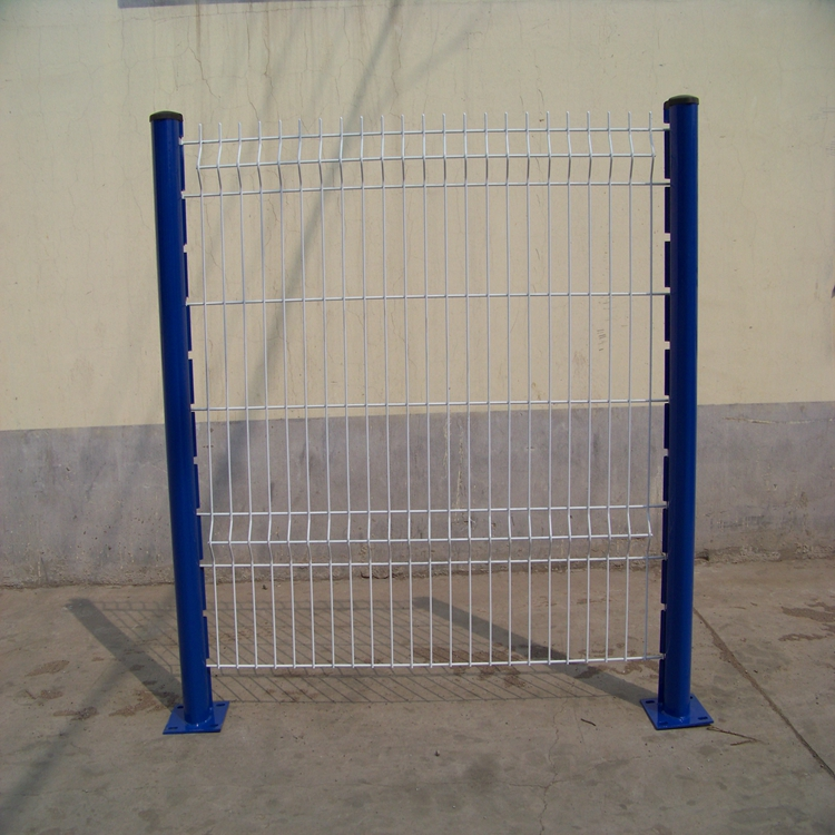 pvc coated galvanized 3d welded wire mesh fence