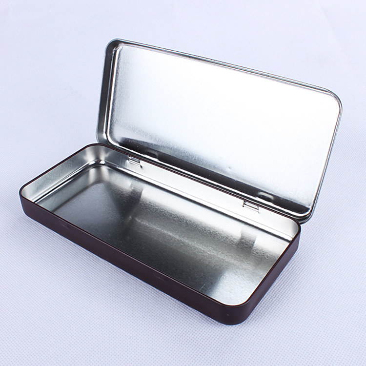 Square Chocolate Tin Metal customer printing Can Box