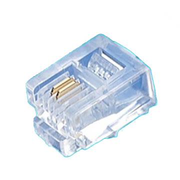 Crystal Plug 6P2C Serial unshielded Type ATRP6P2C-XBX-002