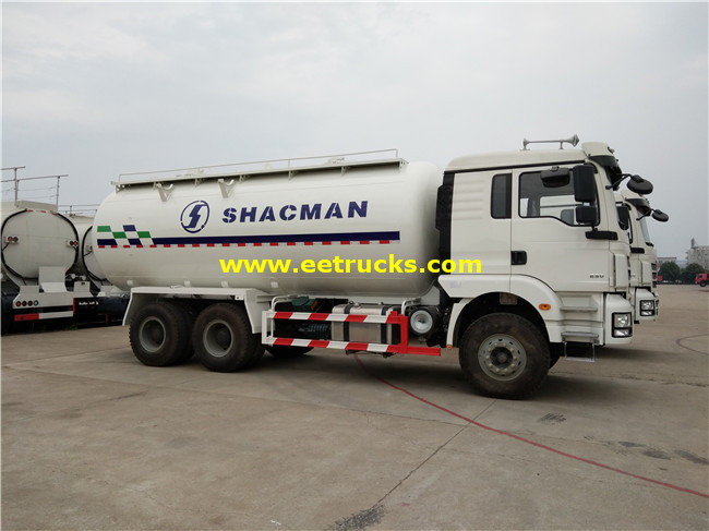 Dry Powder Tank Trucks