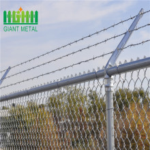 pvc chain link fence fabric