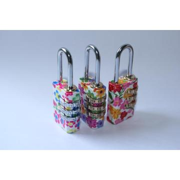 China for Brass Combination Padlocks Colorful Combination Lock 3 Digital Padlock supply to Vanuatu Suppliers