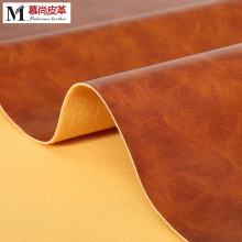 Best Price for for Semi Pu Leather Two Tones PVC Leather Environmental Protecti supply to Portugal Exporter