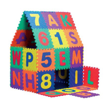 Alphabet Letters Puzzles EVA Foam Mat Math Numbers Counting Educational Toys Floor Tiles Camping Blanket For Children Baby Playy