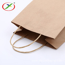 colour kraft paper handle bag