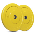 25LB Color Rubber Coated Bumper Plate