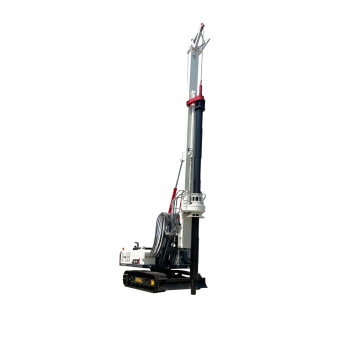 New white 20m rotary drilling rig exported to Vietnam