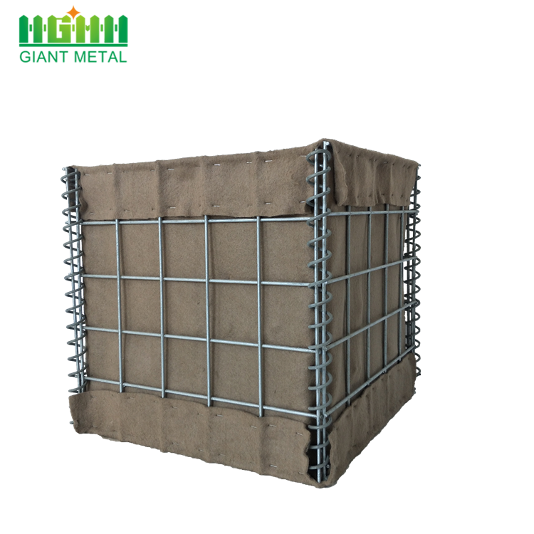Welded Hesco Barriers for Emergency Flood Deployment