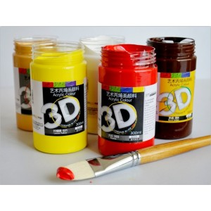 3D Heavy Body Acrylic Paint